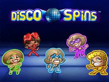 Игровой аппарат Disco Spins — играть онлайн