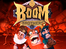 Игровой аппарат Boom Brothers — играть бесплатно